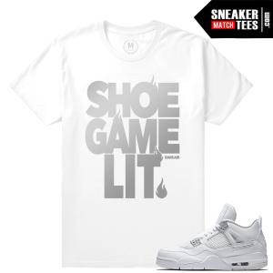 Air Jordan 4 Pure Money Tee Shirt