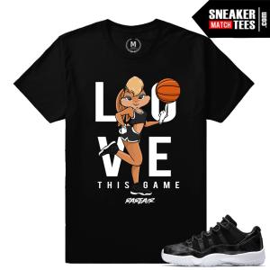 Barons 11 Low Air Jordan tee shirts