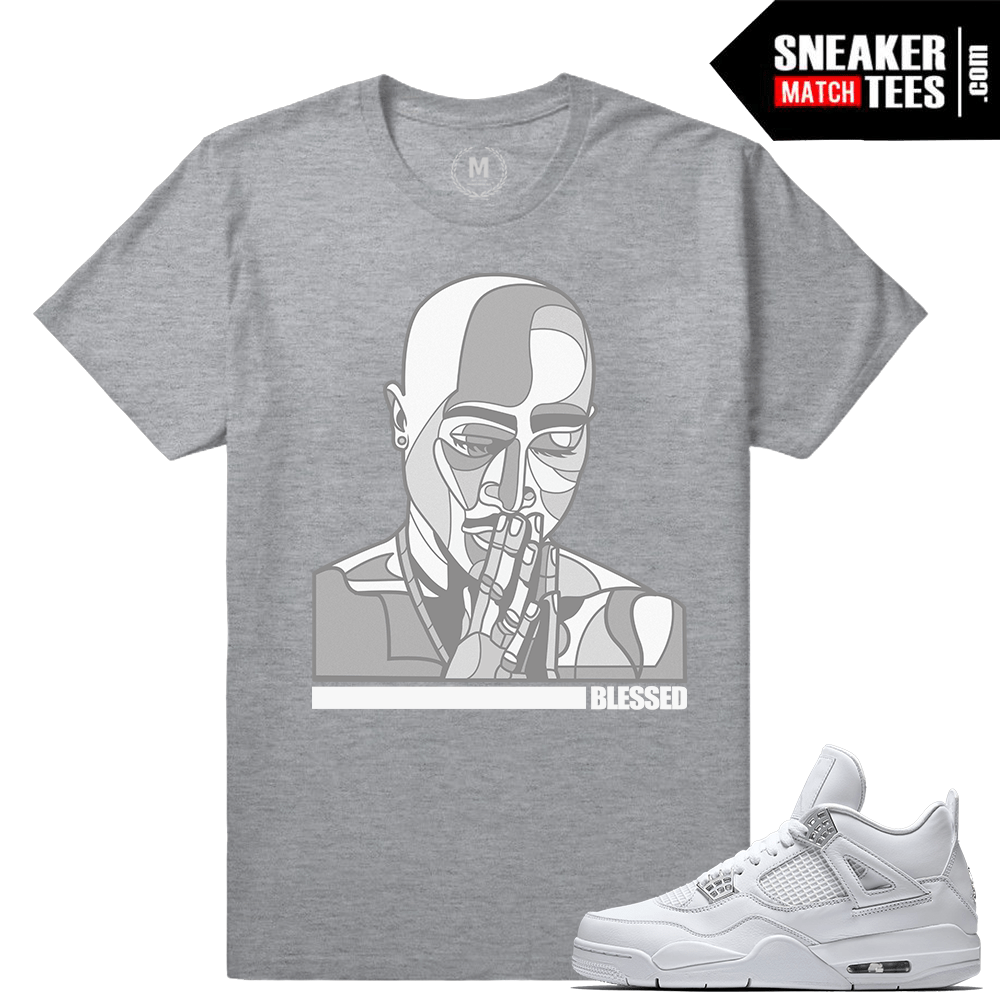 Jordan 4 Pure Money Sneaker tees shirt