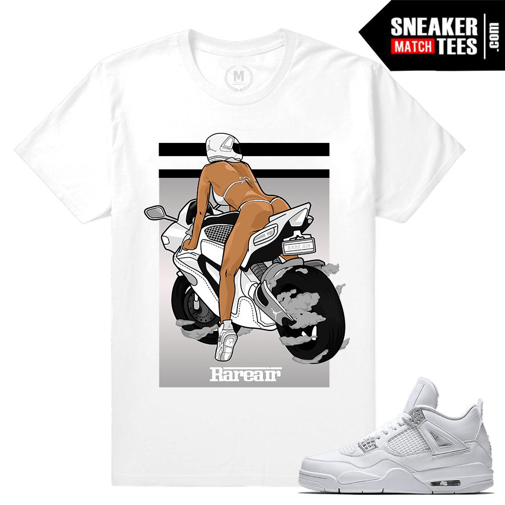 Jordan 4 Pure Money Tee shirts