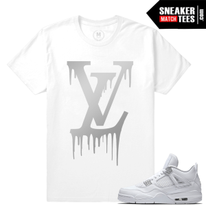Jordan 4 T shirt Pure Money