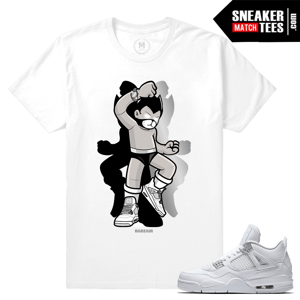 Pure Money 4s Sneaker tee shirts