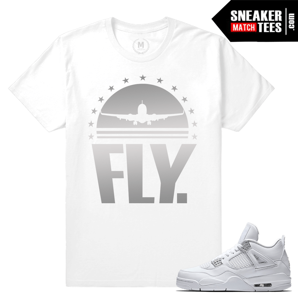 Pure Money 4s Sneaker tee