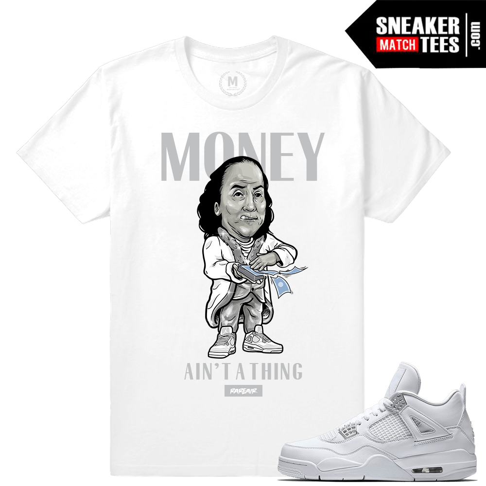 Shirts Pure Money 4 Jordan Retro