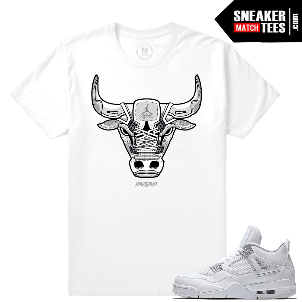 Shirts Pure Money 4 Jordan Sneakers