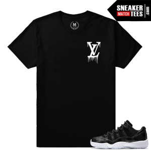 Sneaker Tees Match Barons 11s