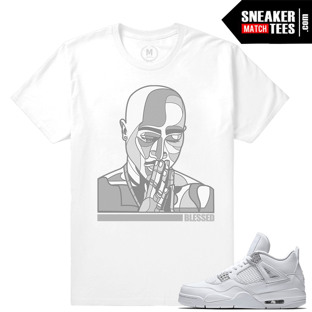 Sneaker Tees Match Jordan 4 Pure Money