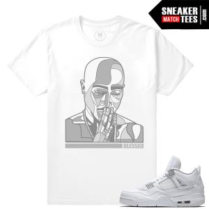 Sneaker Tees Match Jordan 4 Pure Money