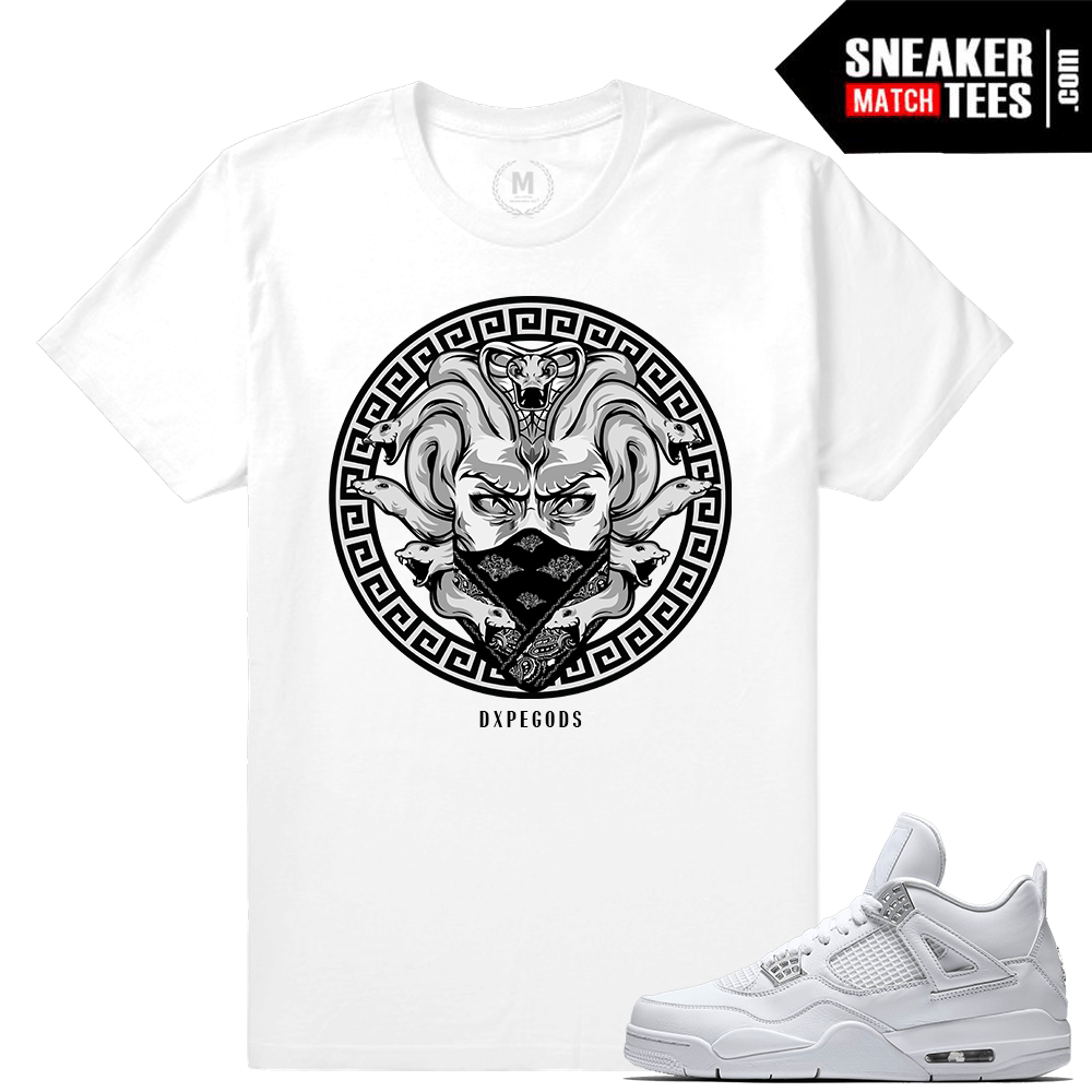 Sneaker t shirt Match Pure Money Jordan 4s