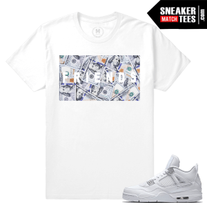Sneaker tee shirts Pure Money 4s