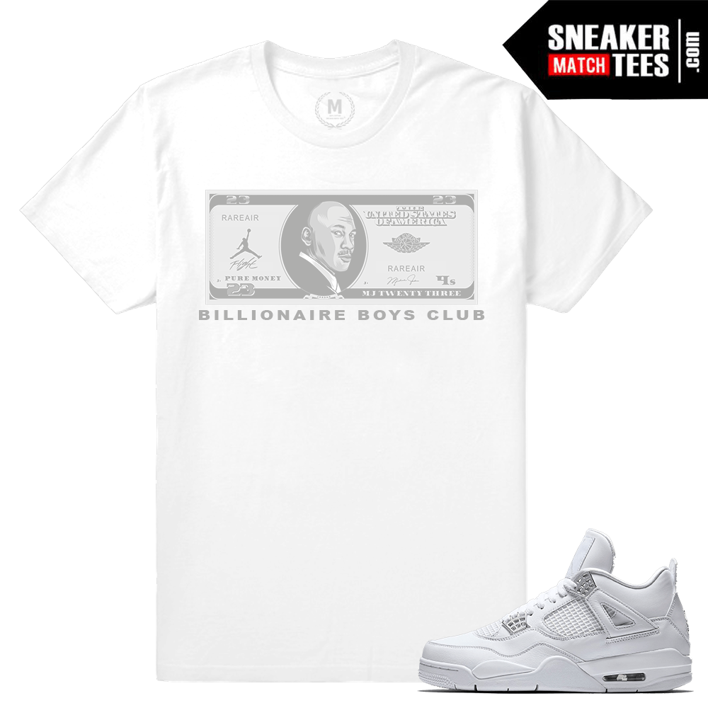 Sneaker tees Pure Money Jordan 4