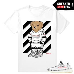 Adidas Yeezy Release Match Yeezy Zebra T shirt
