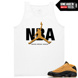 Air Jordan 13 Chutney Matching Tees