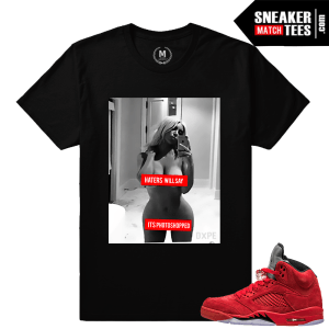 Air Jordan 5 matching shirts