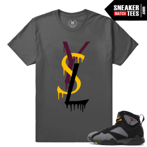 Bordeaux 7 matching tee