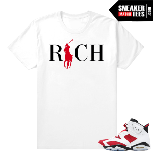 Carmine 6s Sneakertees