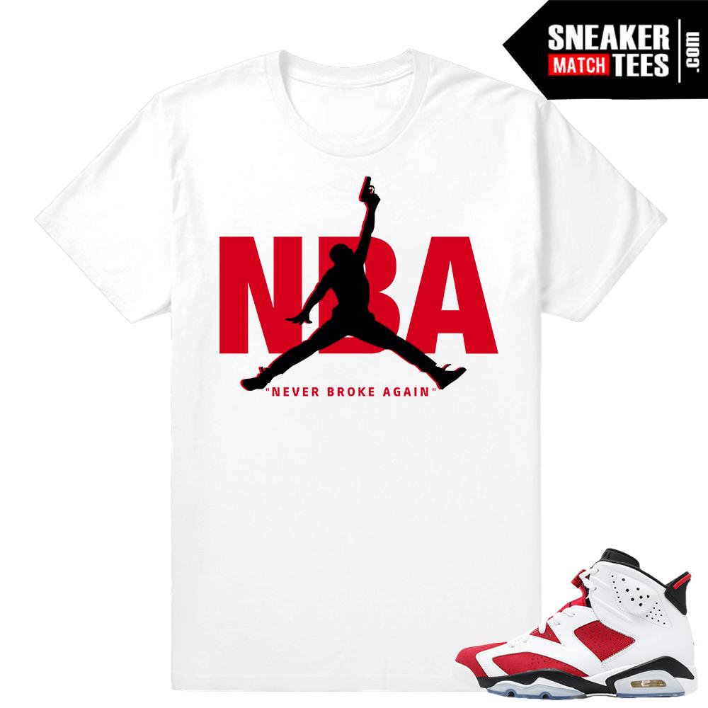 76297f4779e22a Carmine 6s shirts to match Jordans