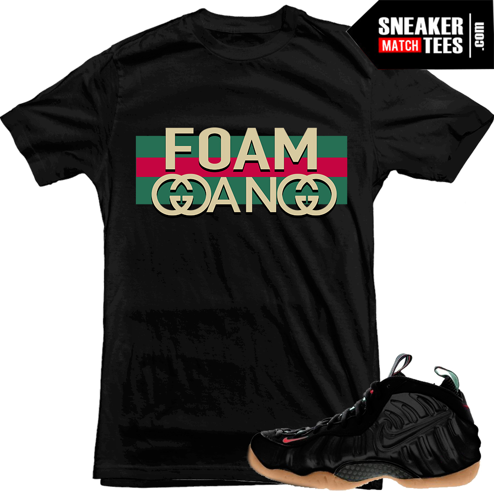 Gucci Foams matching sneaker shirt