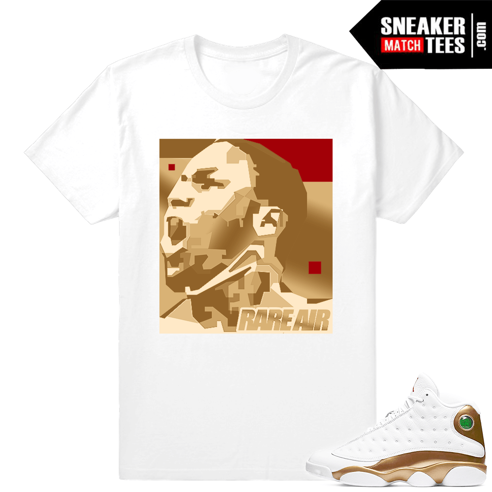 Jordan 13 DMP Shirts match sneakers