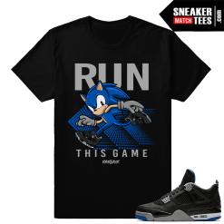 Jordan 4 Alternate Motorsport Match Shirts