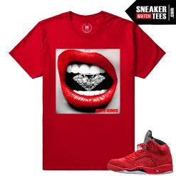 Jordan 5 t shirts