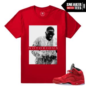 Jordan Retro 5 shirts to match