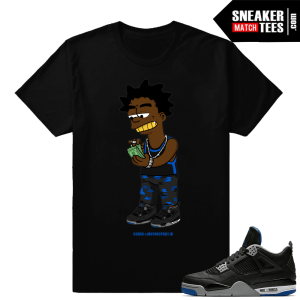 Kodak Black T shirt to matcH Jordan 4 Motorsport