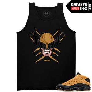 Sneaker Shirts Match Chutney 13s