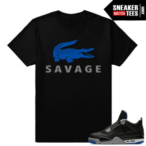 Sneaker tee to match Jordan 4 Alternate