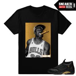 Tshirts to match Jordan 14 DMP Pack