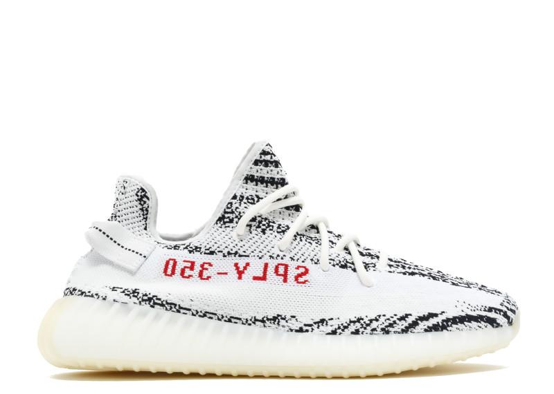 4949b1ce4a829 Adidas Yeezy Boost 350 V2 Zebra