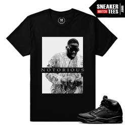 Jordan 5s Black Pinnacle Sneaker tee shirt