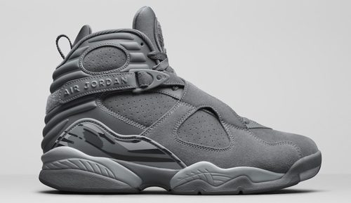 Jordan Release Dates 2017 Air Jordan 8 Cool Grey