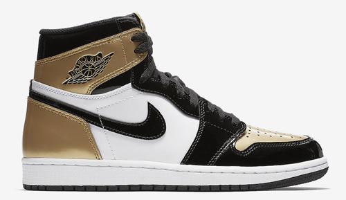 Jordan Release Dates Gold Toe 1s