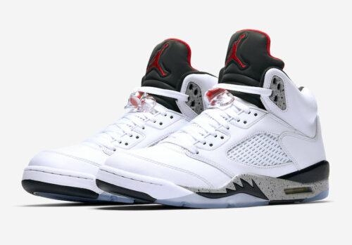 1f14434b8ac Air Jordan 5 Cement White- Jordan Release Dates