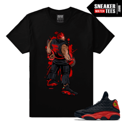 Air Jordan Retros Bred 13s Matching Akuma T shirt