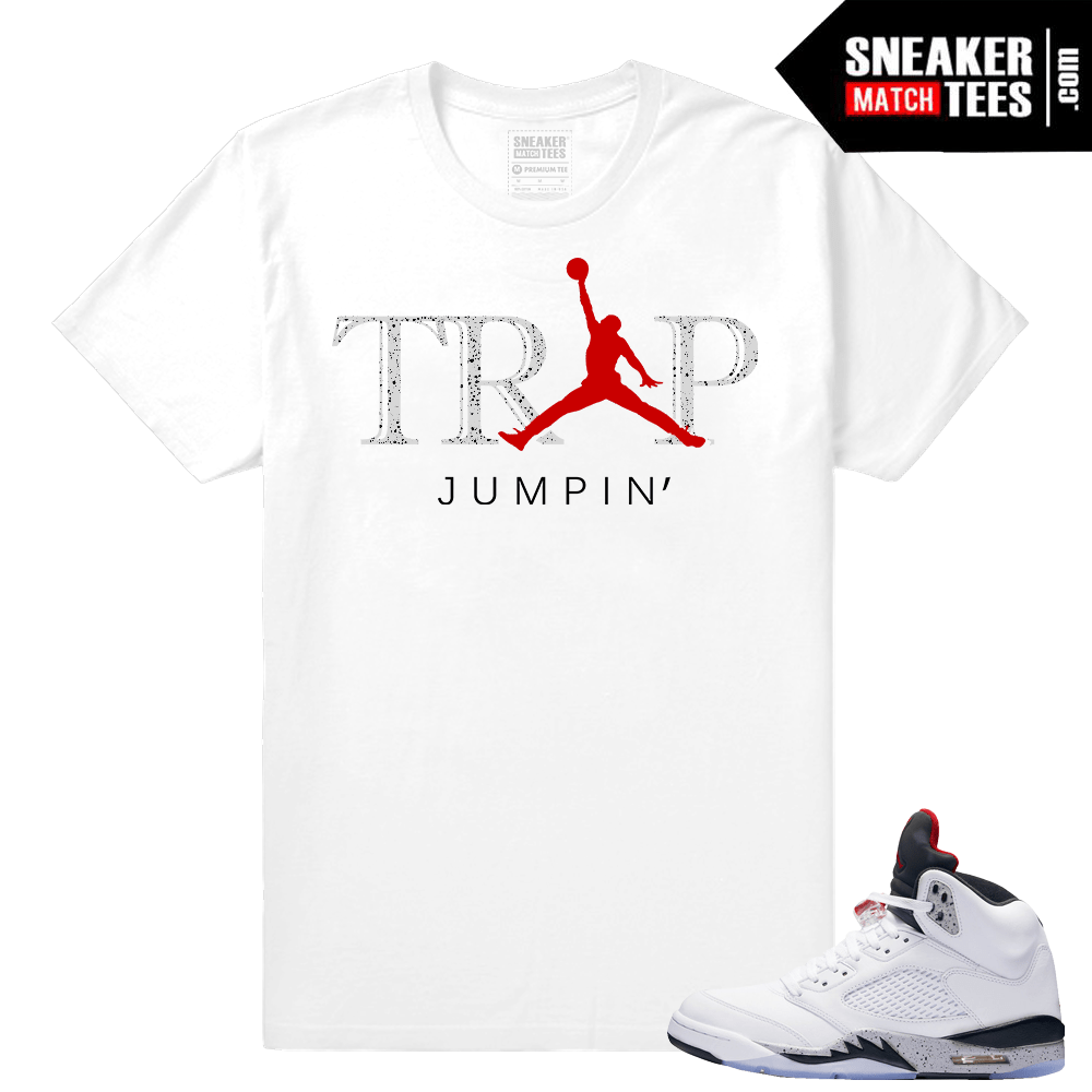 Cement t shirt Match Jordan 5