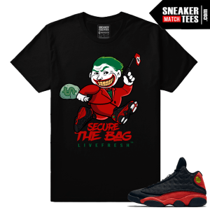 Jordan 13 Bred Sneaker tees Collection Bred 13s