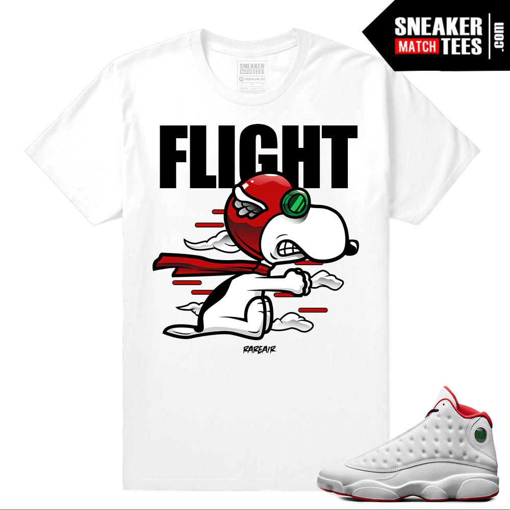 1f1af4061f1b Jordan 13 Sneaker shirts to match