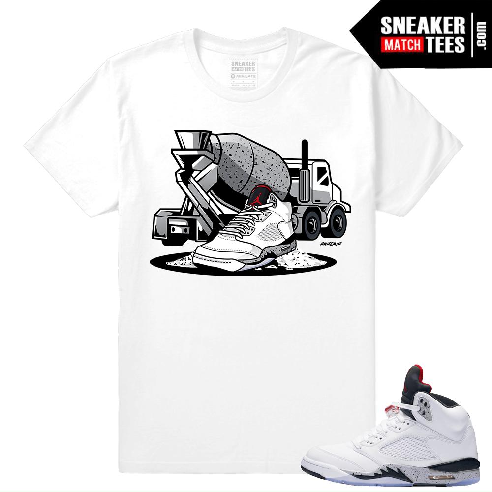 Jordan 5 Cement Shirts to match - Sneakermatchtees.com fc8c17b5b
