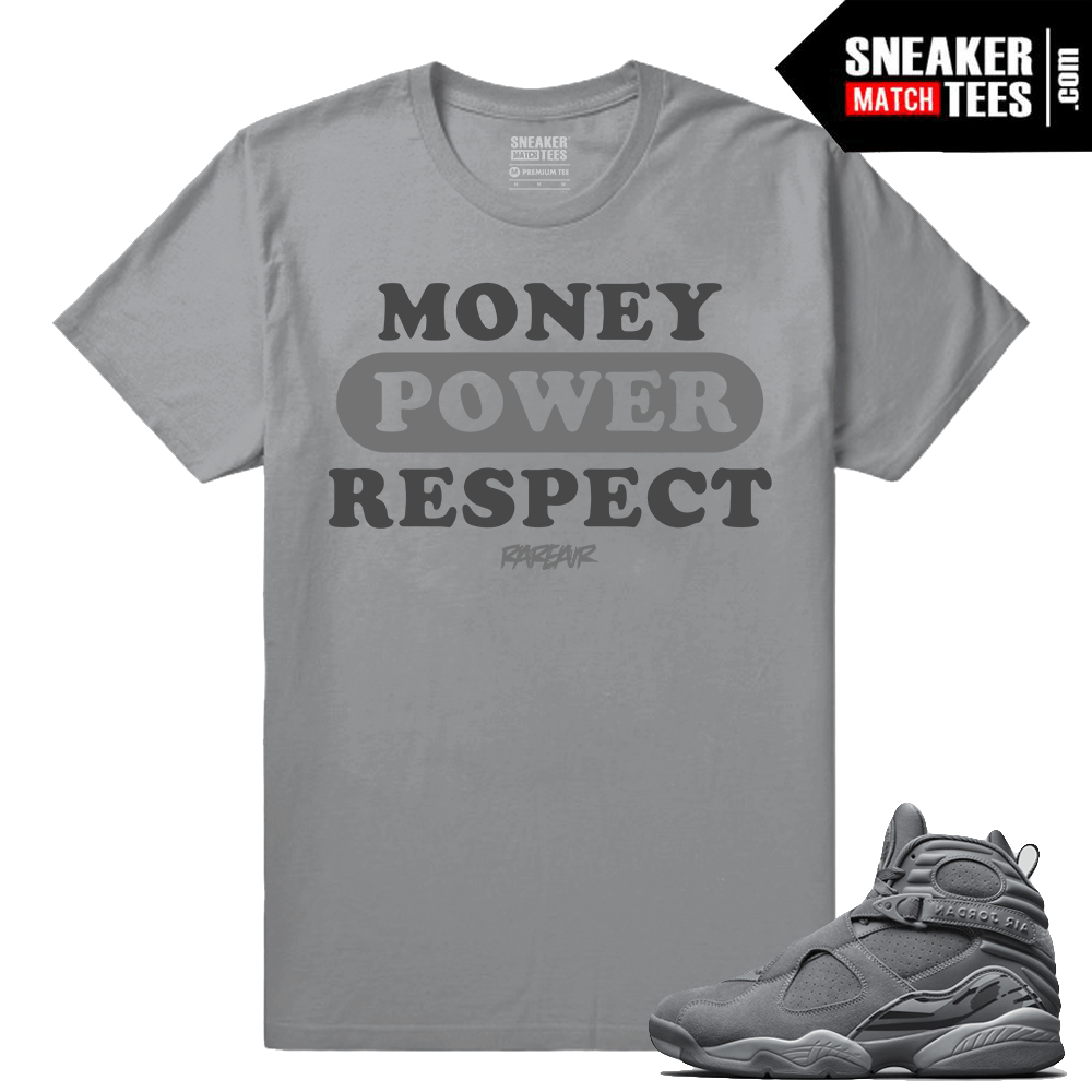 3c5f5effc626d3 Jordan 8 Cool Grey Shirts to match - Sneakermatchtees.com