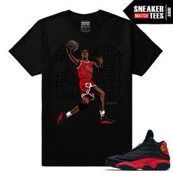 Jordan Retro 13 matching MJ Finesse T shirt