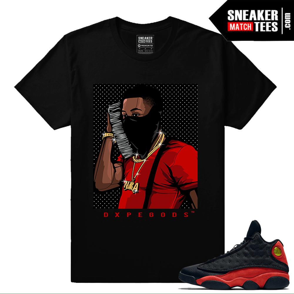 1ea27bdf81b Bred 13s matching NBA Youngboy Money Phone T shirt – Black
