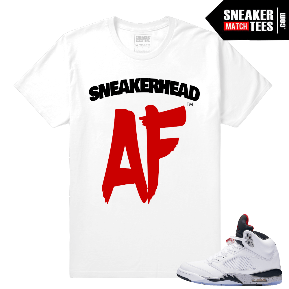 Sneakerhead Cement 5 T shirt
