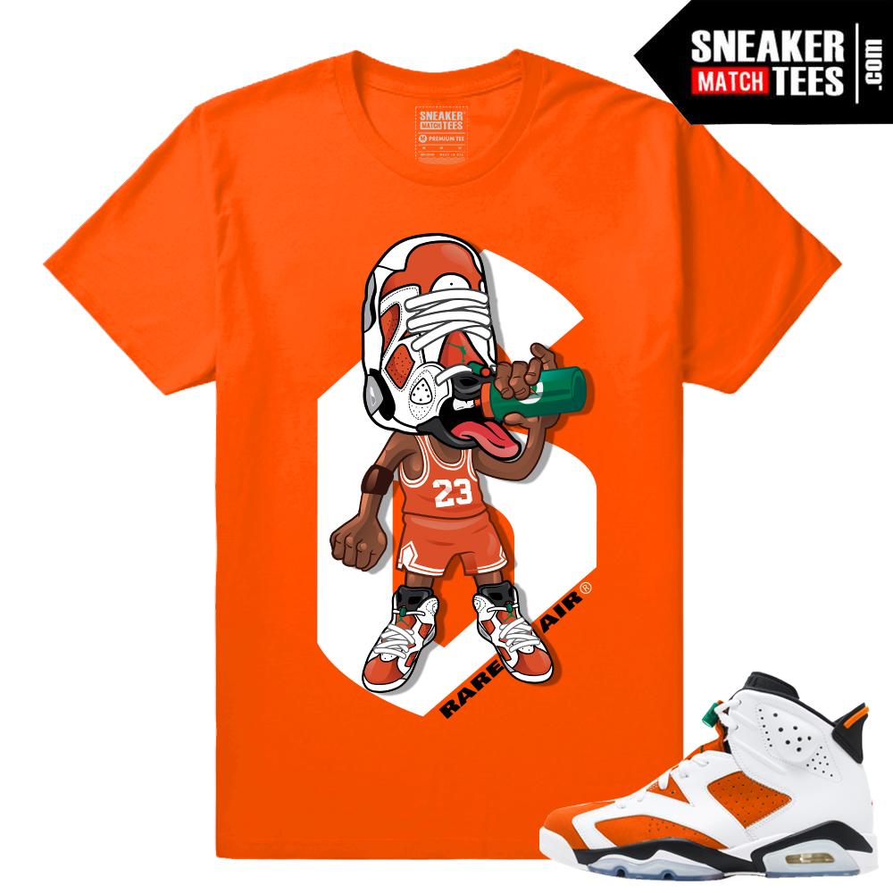 fddfe9567244 Sneakerhead Gatorade 6s Orange shirts match - SneakerMatchTees.com