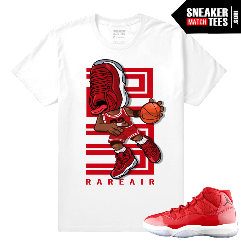 Sneakerhead Jordan 11 Gym Red