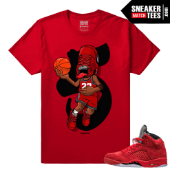 Sneakerhead Red Suede 5s