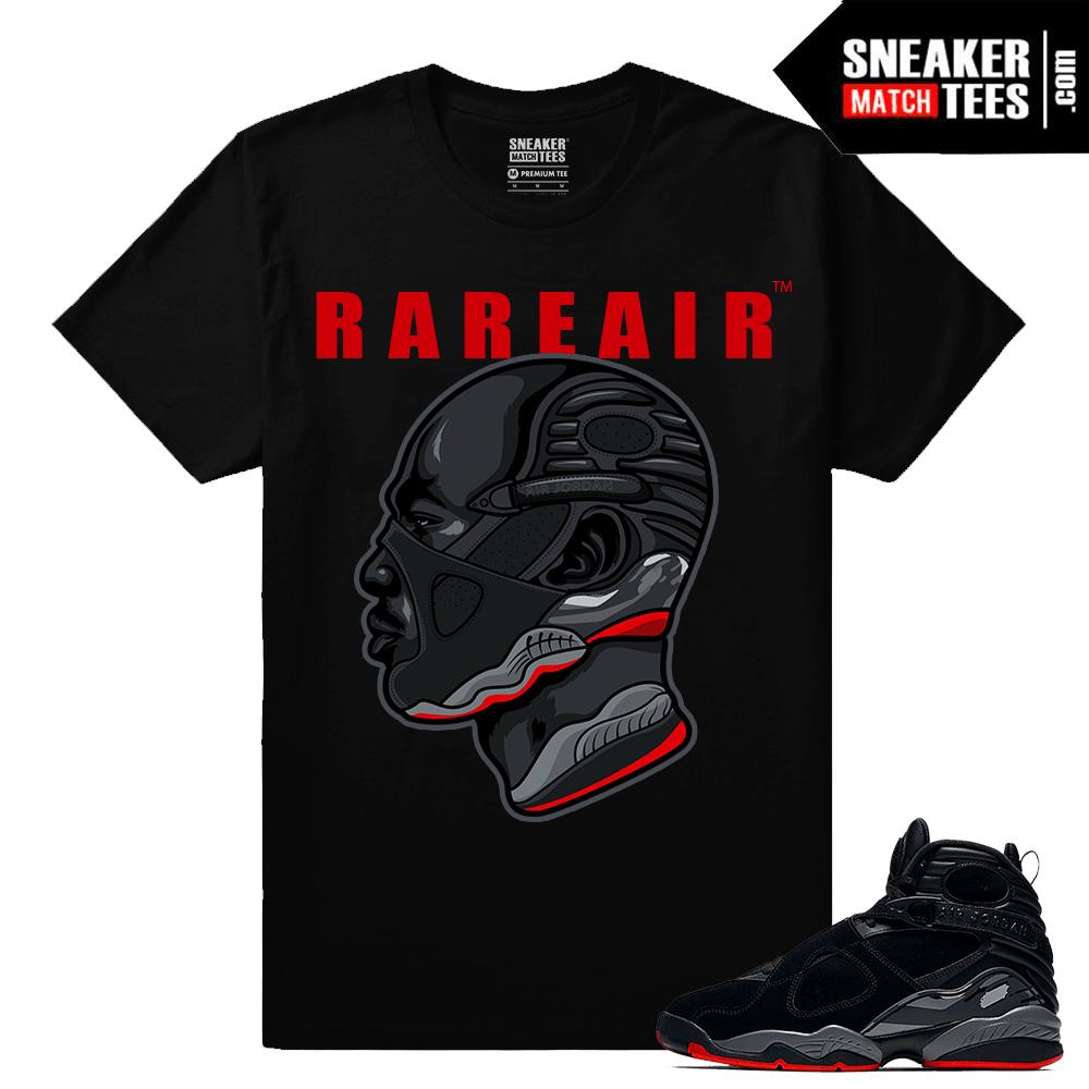 new concept a3aab 99265 Air Jordan 8 Retro Bred T shirt - MJ Sneakerhead 8 - Black