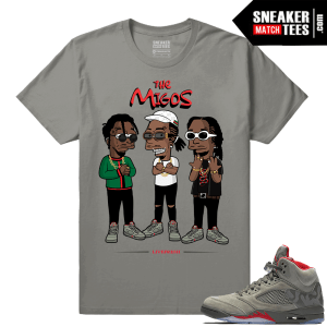 Air Jordan Retro 5 Sneaker shirt