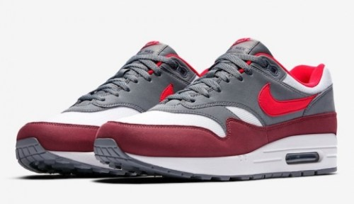 Air Max 1 Release Dates University Red Cool Grey